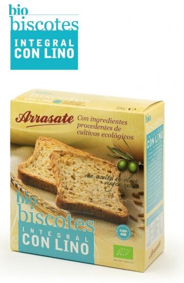 BISCOTE INTEGRAL CON LINO Image